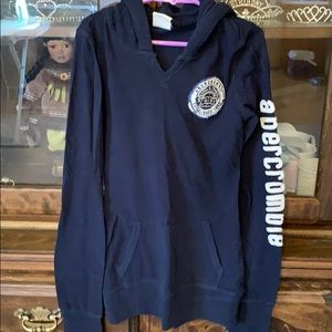 Very light weight hoodie with front pocket